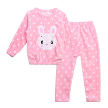 Children Clothing Autumn Winter Pyjama Sets Long Sleeve Pajamas For Girls Comfortable Flannel Sleepwear Girls Pajamas Home Wear