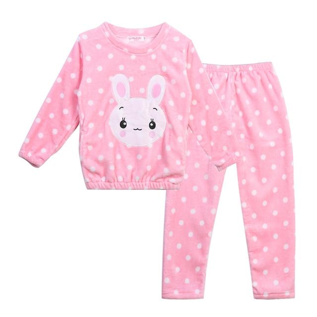b23180330 Ropa para niños Otoño Invierno pijama Sets pijamas de manga larga para Niñas  cómoda ropa de