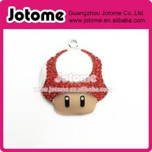 10 шт. бесплатная доставка марио гриб горный хрусталь подвески(China (Mainland))