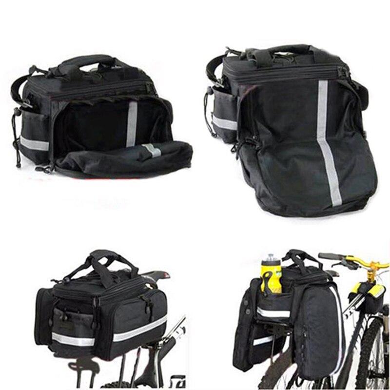 New alforjas bicicleta trasera Rear Seat Trunk Bag Waterproof Bike Cycling Bicycle Handbag rear bike pannier Bag
