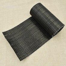 1m Black Color Carbon Fiber Cloth Bridge Reinforced By UD Carbon-fibre Fabric DIY Making Craft Quilting