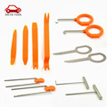12pcs/Set Car Audio Companion Removal Installer Door Clip Panel Kits Interior Molding Clip Hand Manual Distinctive Pry Tool
