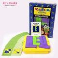 Творческий Взрослых Головоломки Пластиковые Головоломки Классический IQ Tangram Логические Дети Головоломка Куб Игры Развивающие Игрушки