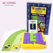 Creative Adulte Puzzle Puzzles En Plastique Classique Tangram IQ Casse-tête Enfants Puzzle Cube Jeu Jouets Éducatifs