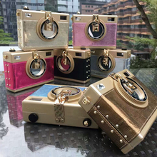 Luxus mode-design für hochwertige farbe diamant wildleder PU frauen handtasche lock-box umhängetasche flap messenger bag Z915