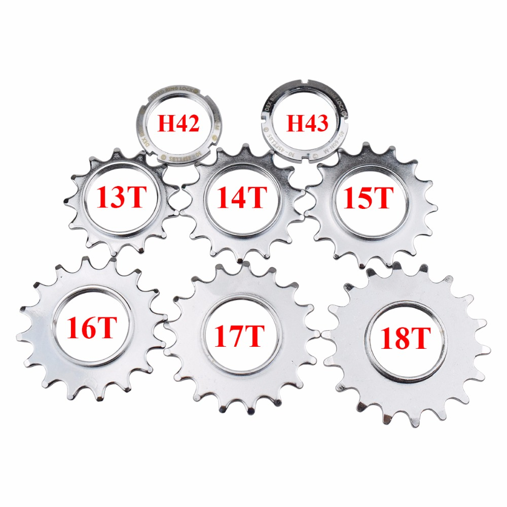 """14T COG FIXED GEAR TRACK 14 TOOTH CHROME PLATE 1//8 INCH 1//8/"""" FIXIE"""