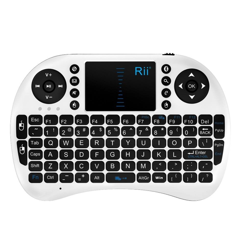 Mini անլար ստեղնաշար 2.4 գ touchpad փոքր - Համակարգչային արտաքին սարքեր - Լուսանկար 2