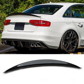S4 A4 HK Style Carbon Fiber Rear Spoiler Wing for Audi A4 B8.5 S4 4 Door 2013-2016