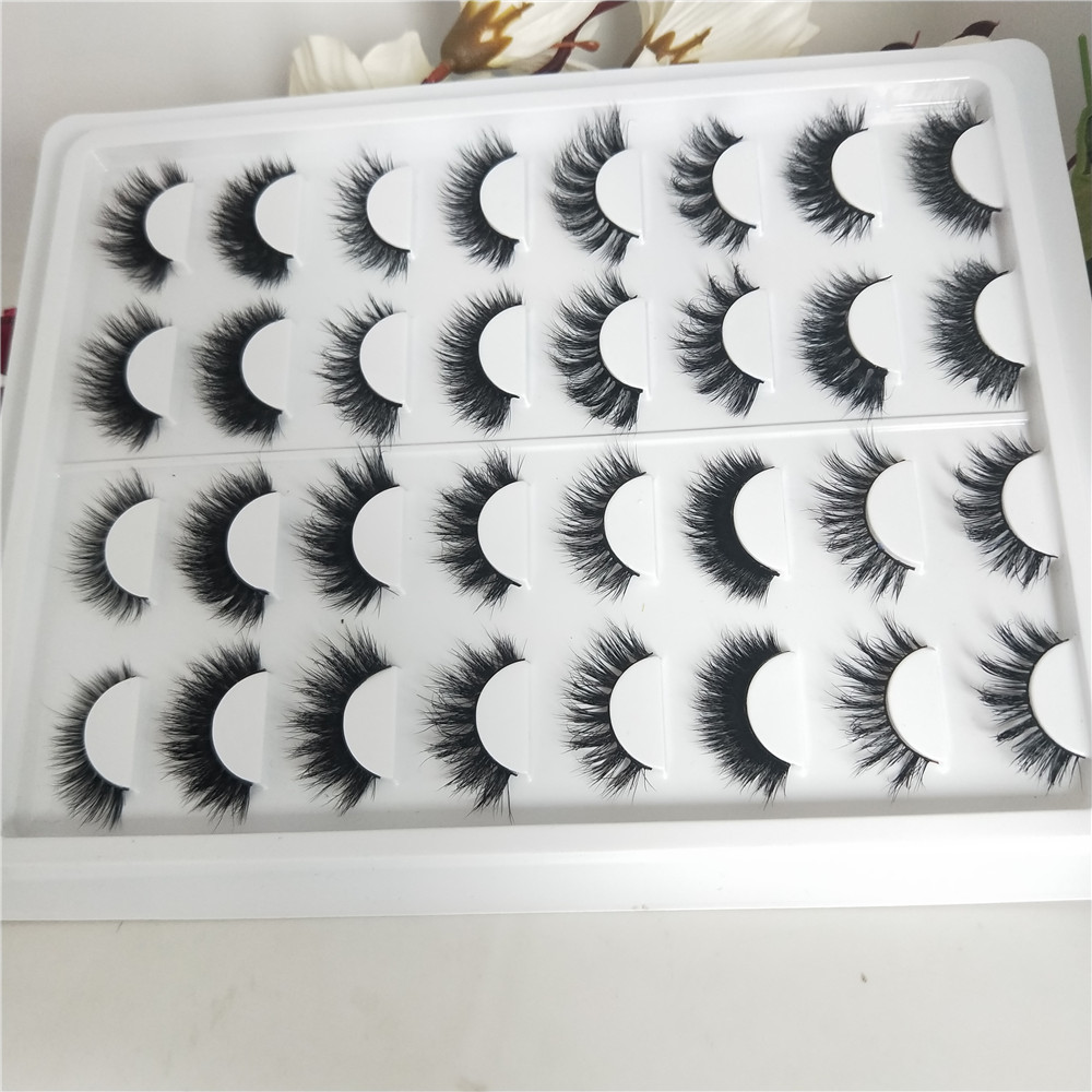 Nouveau 16 styles/ensemble faux cils naturels faux cils long maquillage 3d vison cils extension cils vison cils pour beaty