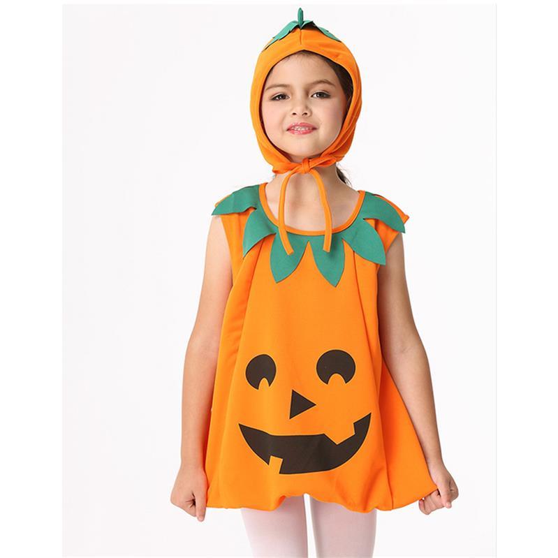 nueva llegada nias nios trajes de calabaza de halloween cosplay carnaval de disfraces de navidad para