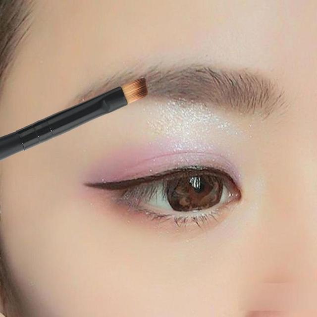Liquid Eyebrow Enhancers Natural Easy To Wear Brown Waterproof Tint Eyebrow Henna With Mascara Eyebrows Paint Brush Set Beauty 3