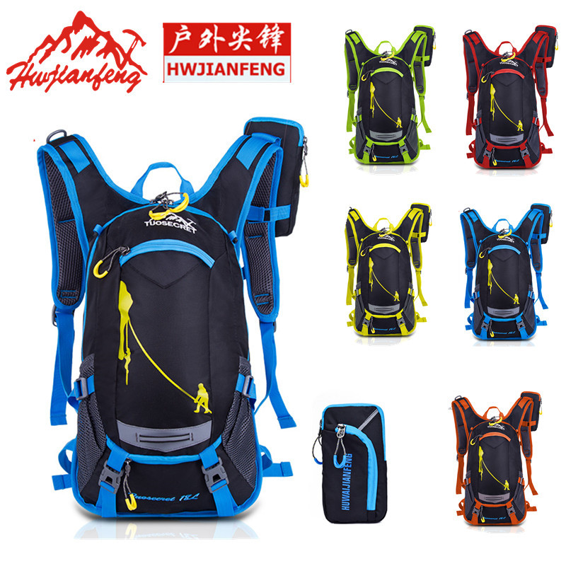 ARCTICRESIDENTS Sports Waist Bag Outdoor Mountaineering Bag Riding Kettle Triangle Pockets