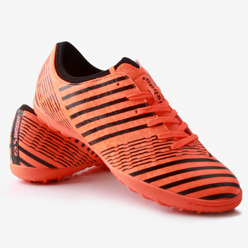 Professional Outdoor Soccer Shoes Unisex Athletic Training Football Shoes Sneakers Hard Court Sport Shoes tiebao soccer sport shoes football training shoes slip resistant broken nail professional sports soccer shoes