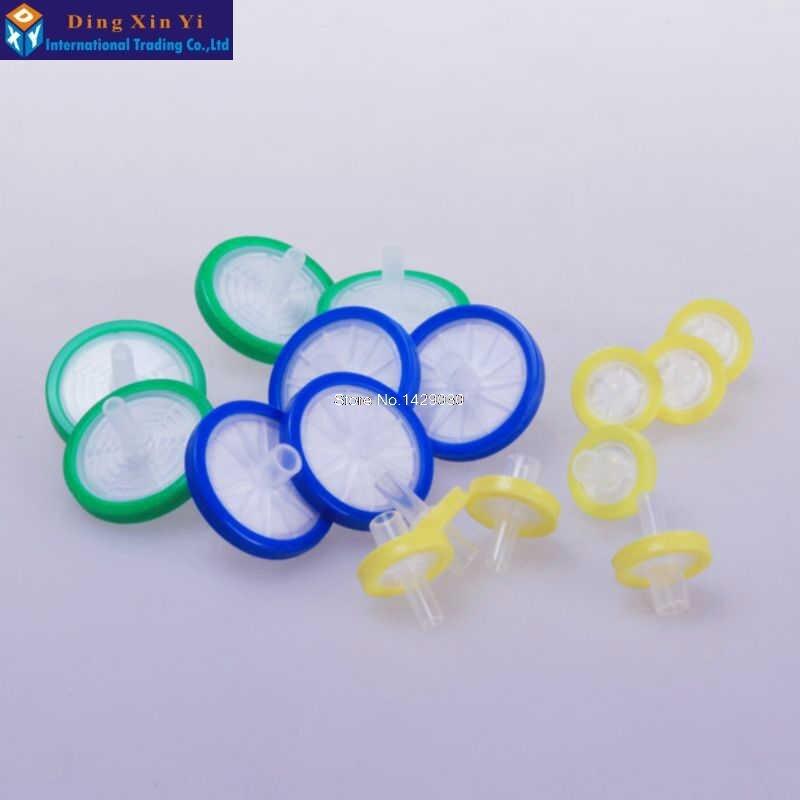 100PCS 13mm 0.22 / 0.45um NYLONM Filtrační membrána s filtrem - Školní a vzdělávací materiály - Fotografie 3