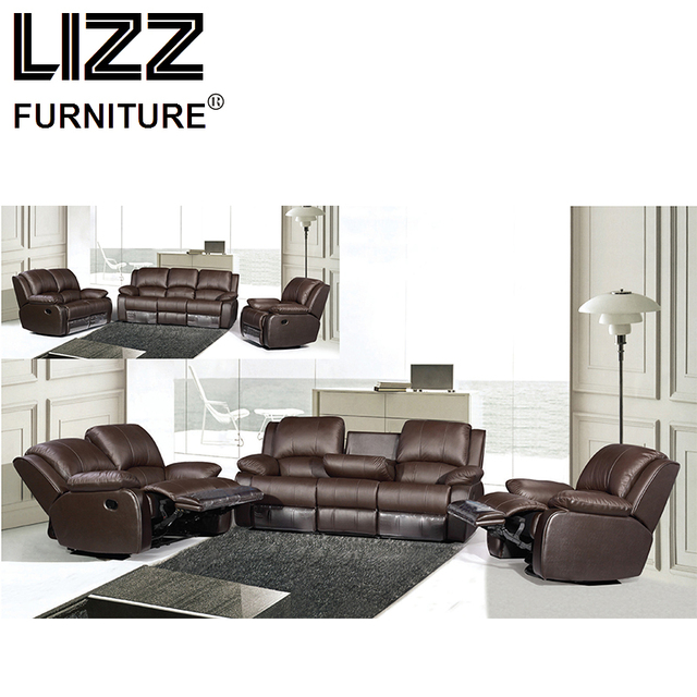 Recliner Sofas Loveseat Chair Sectional Office Sofa Set For Living Room Furniture Modern Scandinavian Canape Leather