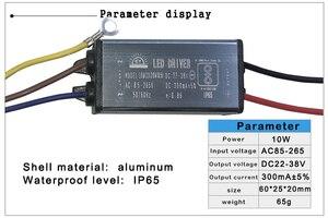Image 2 - LED נהג 10W 20W 30W 50W 70W מתאם שנאי AC85V 265V כדי DC22 38V IP65 אספקת חשמל 300mA 600mA 900mA 1500mA 2100mA