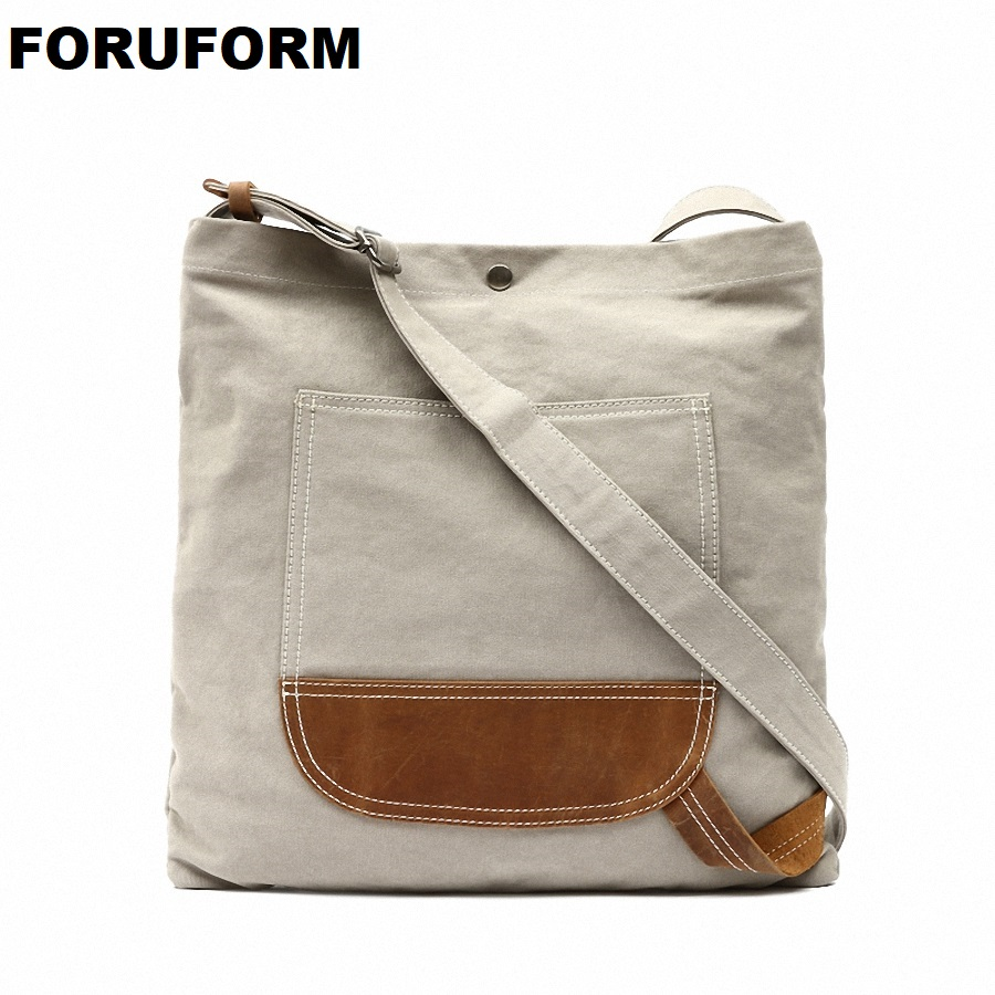 Vintage New Women Messenger Bag Female Canvas Vintage Shoulder Bag Ladies Crossbody Men Large Shopping Designer Handbags LI-2025 japanese pouch small hand carry green canvas heat preservation lunch box bag for men and women shopping mama bag