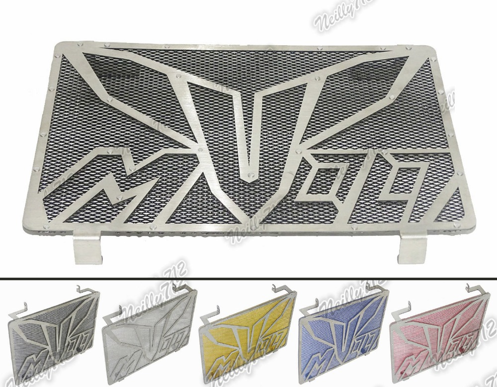 Motorcycle Radiator Protective Cover Grill Guard Grille Protector For Yamaha MT-09 MT09  FZ-09 FZ09 2013 2014 2015 2016 motorcycle arashi radiator grille protective cover grill guard protector for yamaha yzf r1 2004 2005 2006