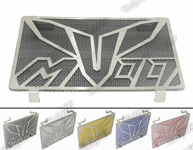 Motorcycle Radiator Protective Cover Grill Guard Grille Protector For Yamaha MT-09 MT09  FZ-09 FZ09 2013 2014 2015 2016