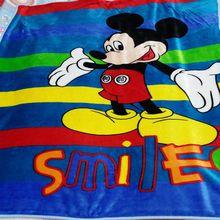 100 × 140 センチメートル子供/ベビー看護毛布フランネルスローブランケット散歩サンゴフリースポータブル毛布おくるみラップスロー