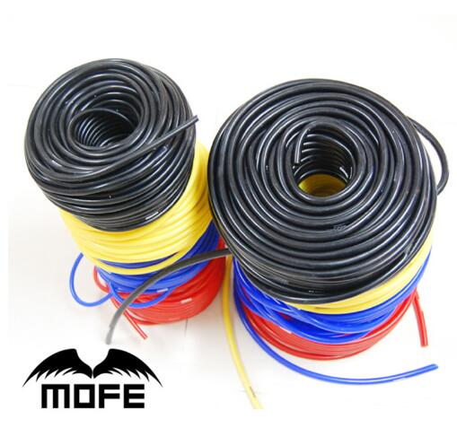 MOFE 5Meter Universal 5mm/6mm/8mm Silicone Vacuum Tube Hose Silicone Tubing image