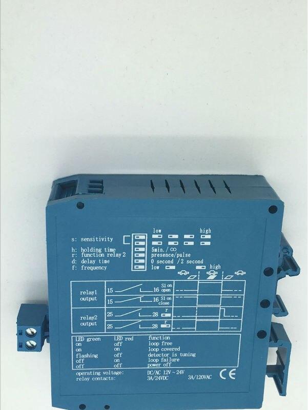 Hot!! Magnetic Autocontrol Single Channel Inductive Loop Detector Vehicle Detection Sensor цены онлайн