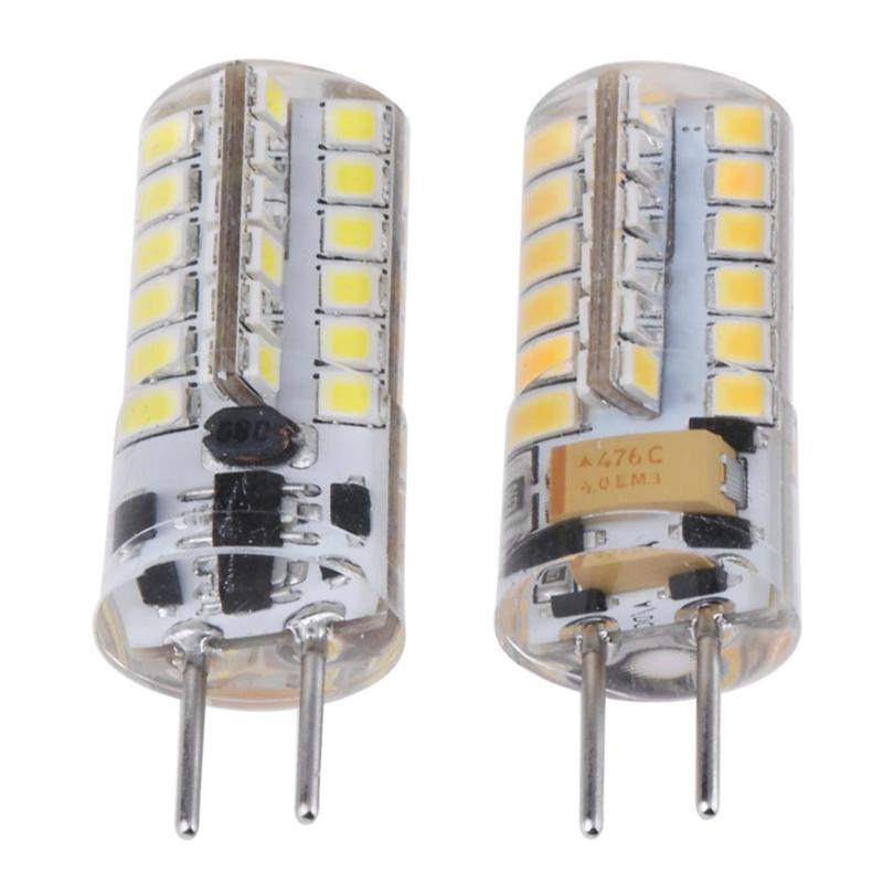 AC/DC 12V 2835SMD 48LED LED Lamp Corn Light for Crystal Chandelier Hanging Light Cold/Warm White Light LED Bulb Lamp