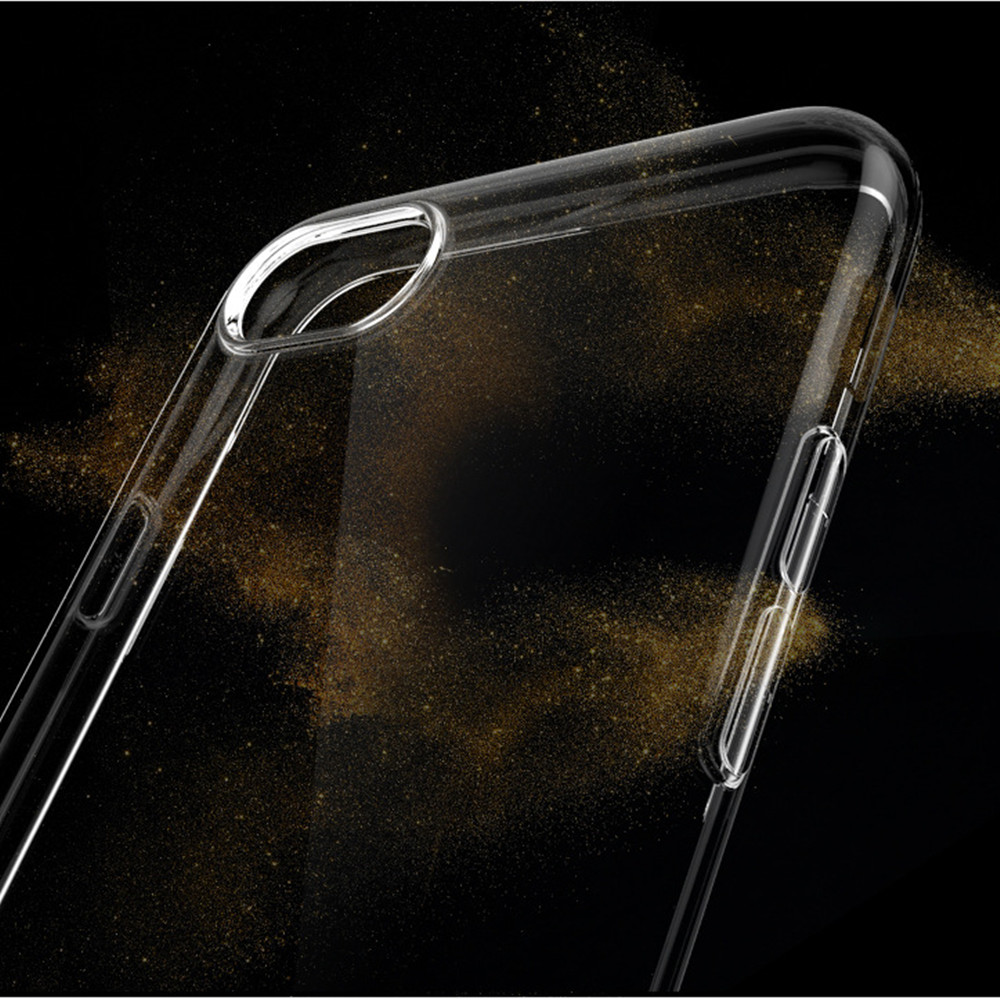 Wholesale 50pcs TPU Transparent Moblie cover case for Iphone 5 6 6S 7 7P 8 8P X XR XS max thickness 1 2mm TPU case free shipping in Half wrapped Cases from Cellphones Telecommunications