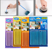 12PCS/ Set Pipe Cleaning Sticks Decomposition of Hair and Waste in