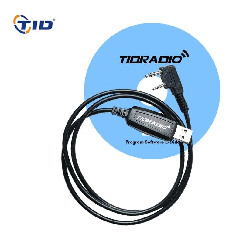 TID USB Câble de Programmation Talkie Walkie Accessoire Pour Baofeng uv-5r bf-888s uv-82 uv-5re TD-UV5R TD-V2 TD-M9 Deux Way Radio