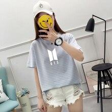 BTS Striped T-Shirt (2 Models)