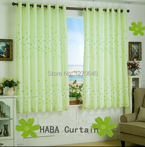 Low Price Rural Short Curtains Tailored Pleat Design ...