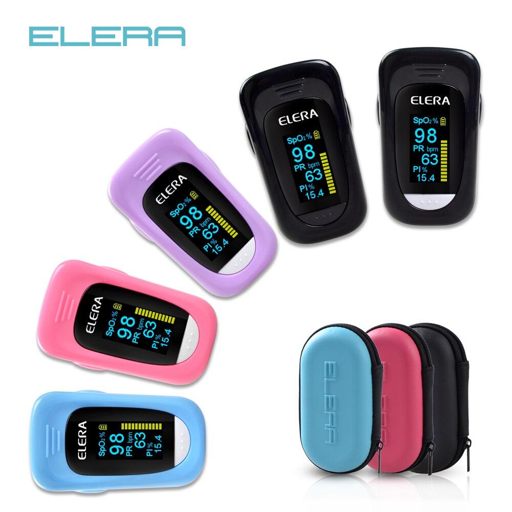 ELERA Newest Finger Pulse Oximeter Data Record Oximetro  SPO2 PR PI ODI4 Oximetro De Dedo 8 Hour Sleep Monito Pulsioximetro