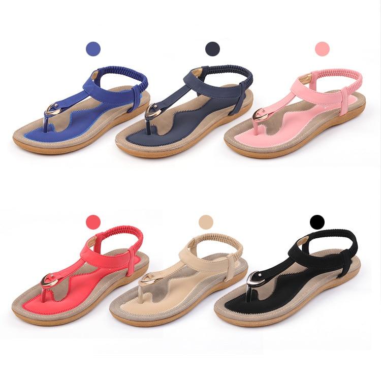 HTB1IE59CH1YBuNjSszhq6AUsFXaq BEYARNE size 35-42 new women sandal flat heel sandalias femininas summer casual single shoes woman soft bottom slippers sandals