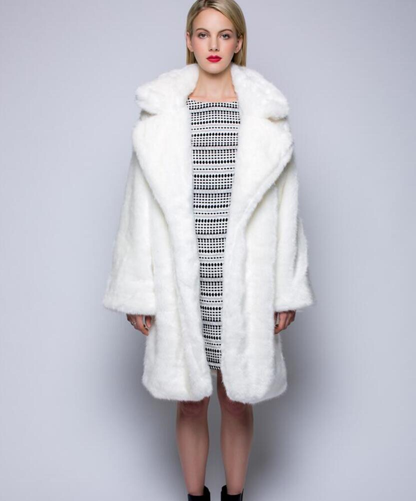 Collection White Mink Coat Pictures - Reikian