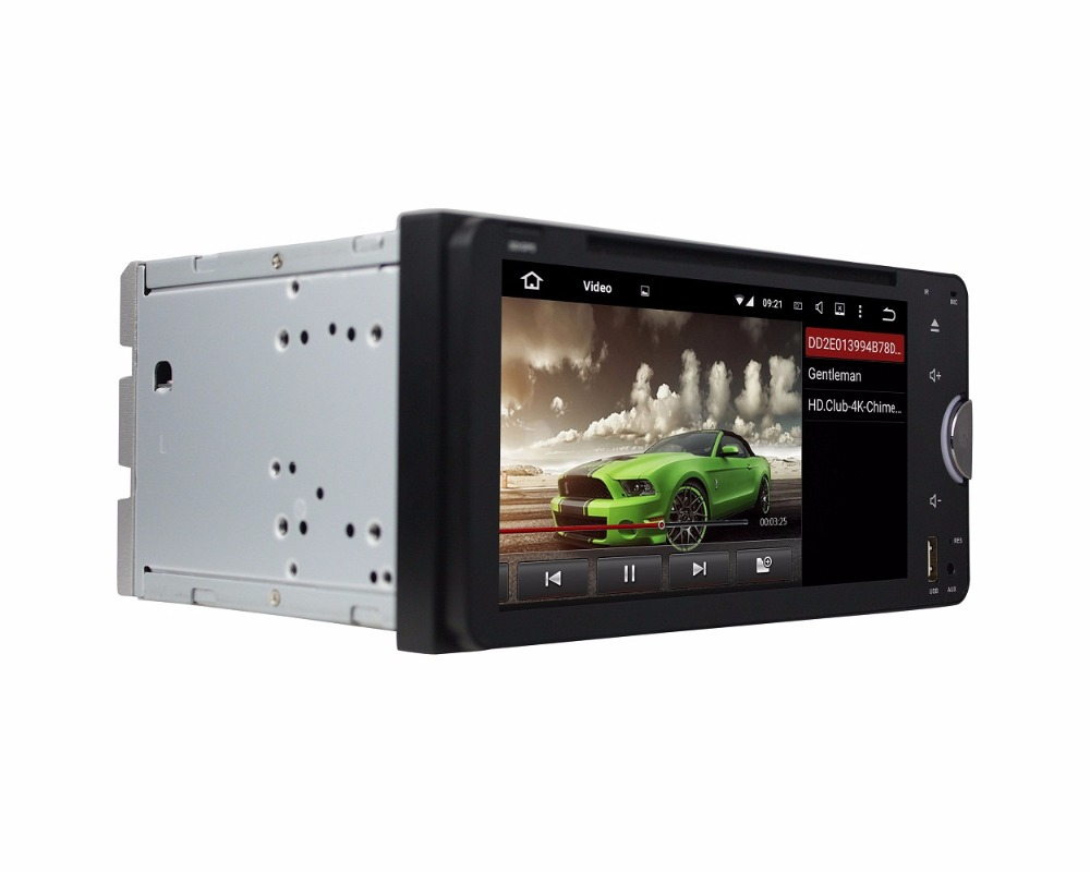 4GB RAM Octa Core 6.95 Android 6.0 Car Audio DVD Player for toyota RAV4 Corolla Hilux Vios Terios Fortuner Prado Land Cruiser