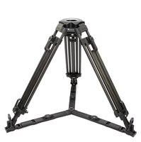 1675L Adjustable Flexible Aluminum Camera Video Tripod 75MM Bowl Professional Travel Tripods For Photography