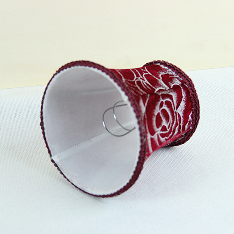 Diy Wine Red Color Hall Of Lamp Small Shade Chandelier Mini Lampshades 5x4