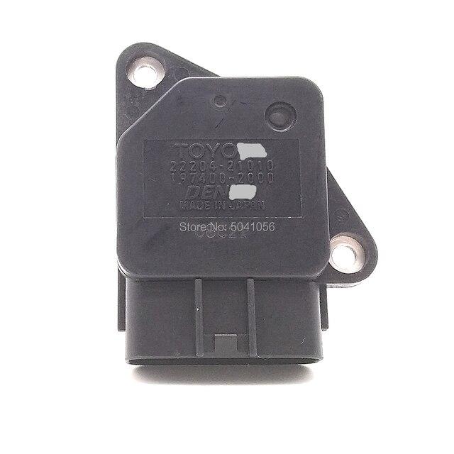 197400-2000 22204-21010 Genuine MAF Mass Air Flow Sensor fit for Toyota Lexus Scion Mazda 22204 21010 197400 2000