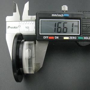 Image 5 - HACCURY 50*17 мм круглый спиртовой уровень, инструмент для уровня воды круглый спиртовой уровень пузырьковый флакон пять стилей