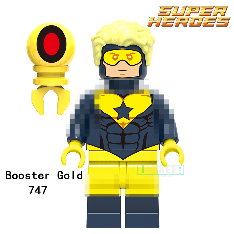 Building Blocks Booster Gold Parademon Aquaman Katana Super Hero Star Wars Set Bricks Dolls Kids DIY Toys Hobbies XH747 Figures