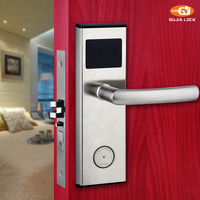 Electronic lock for hotel door Hotel lock rfid electronic hotel lock magnetic card 01Y