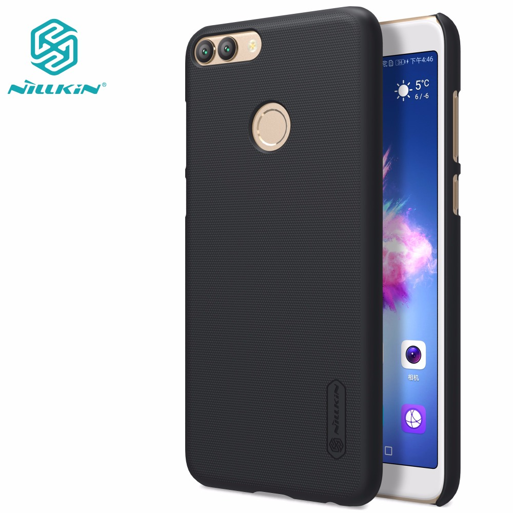 Huawei P Smart case Huawei P Smart Cover NILLKIN Super Frosted Shield Matte hard back cover +free screen protector