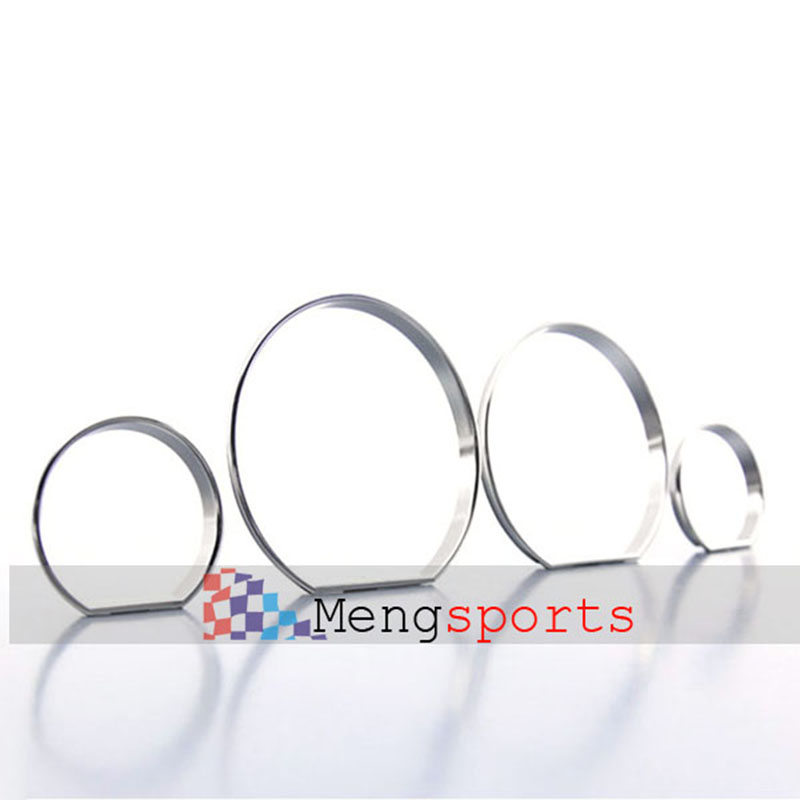 25sets 100pcs E46 Chrome Matt Silver Cary Styling Speedometer Gauge Dial Rings Bezel Trim Emblem Badges SpeedoTech Sport
