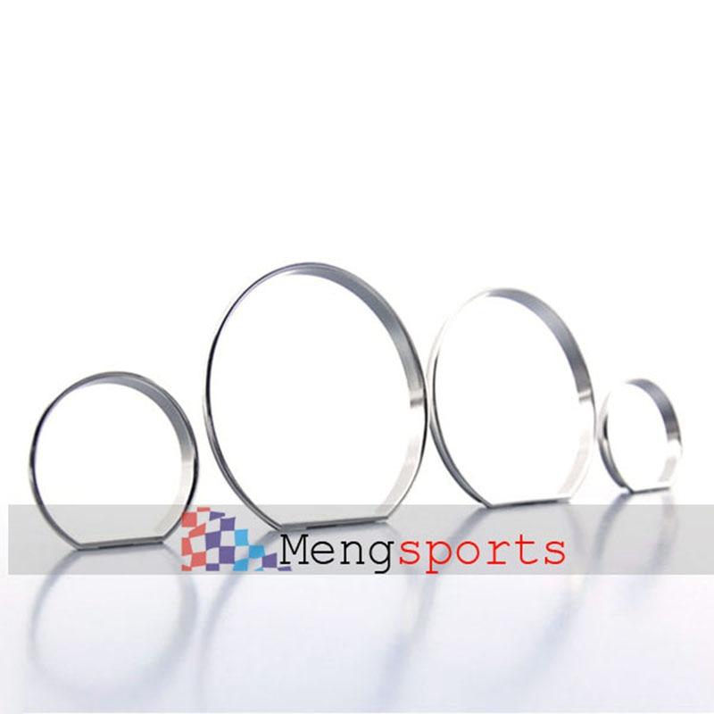 25sets 100pcs E46 Chrome Matt Silver Cary Styling Speedometer Gauge Dial Rings Bezel Trim Emblem Badges SpeedoTech Sport