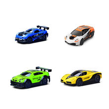 Mini RC Car Toys for Children Electric Toys Machine Auto Remote Control Anti Gravity Ceiling Racing Car Wall Climbing Car(China)