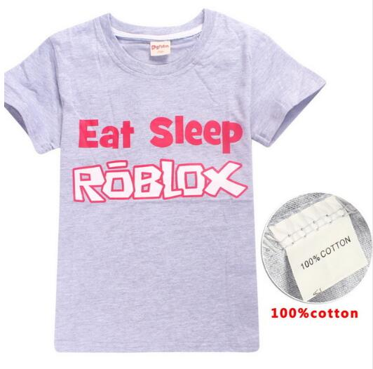 f3d3ae67eef1 Aliexpress.com   Buy New 4 14y Pure Cotton Roblox T Shirt Summer Hot ...
