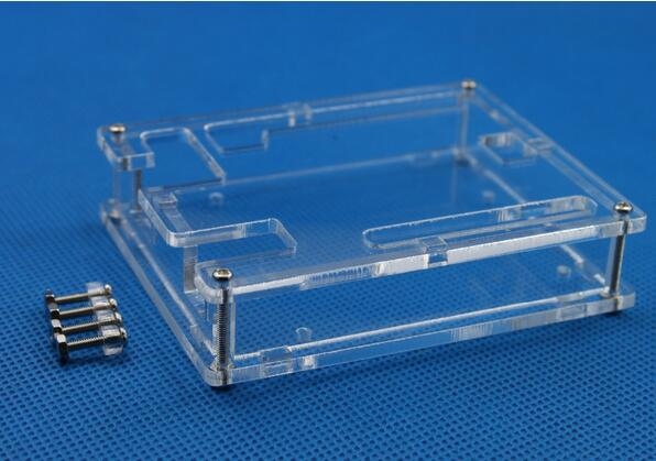 Uno R3 Case Enclosure Transparent Acrylic Box Clear Cover Compatible with font b Arduino b font