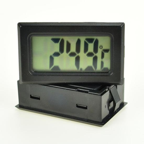 -<font><b>50</b></font> to 110 Digital Thermometer Mini LCD Display Meter Fridges Freezers <font><b>Coolers</b></font> Aquarium Chillers Mini 1M Probe Instrument image