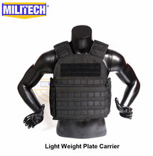 MILITECH Light Weight Plate Carrier Military Combat Assault Tactical Vest Police Overt Wear Body Armor Plate Carrier(China)